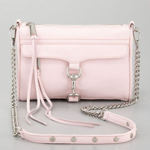 Rebecca Mincoff MAC CrossBody Bag Pink
